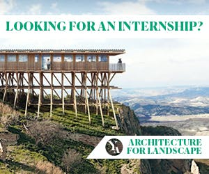 Looking for an Internship? 'ARCHITECTURE FOR LANDSCAPE' lectures and internships; Snohetta, BIG, Michele De Lucchi and more