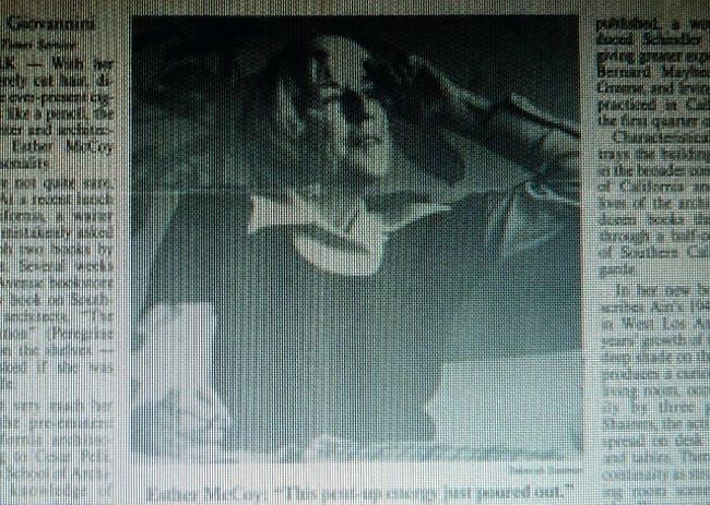From International Herald Tribune, July 1984