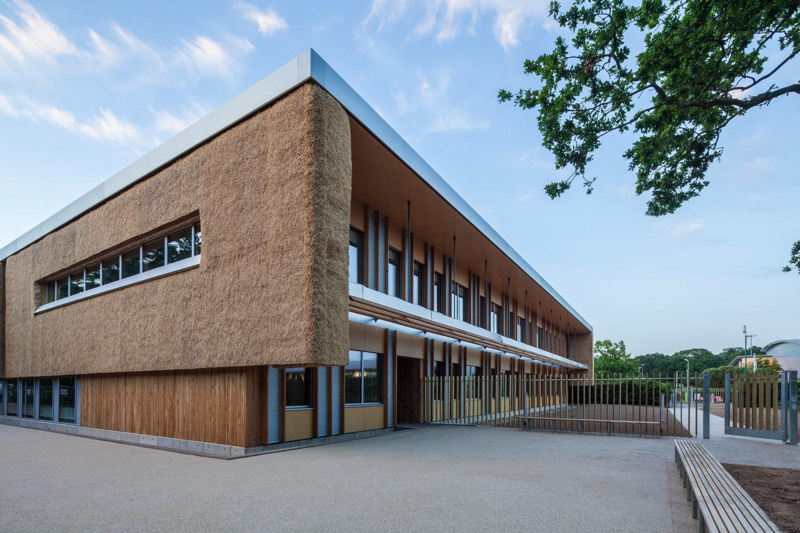 The Enterprise Centre, Norwich, UK, by BDP. Photo: Dennis Gilbert.