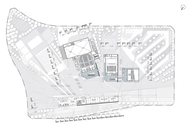 2nd floor plan (Image: H Architecture & Haeahn Architecture)