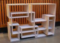 B-Shelves: A Web Based Mass Customized Product