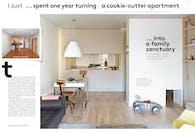 New York Magazine(4 pages), Apartment renovation by Yuuki Kitada Architect