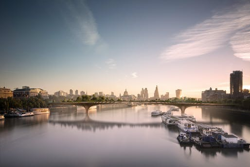 Can you spare £30 million? Thomas Heatherwick's (increasingly) potential Garden Bridge