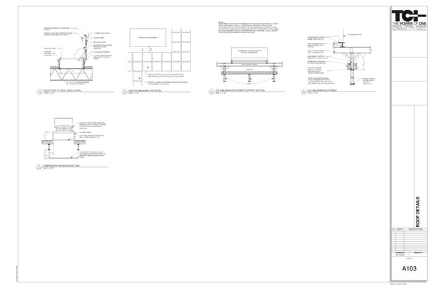 Grocery Details ***Please feel free to contact me for a higher resolution PDF copy of the detail drawings shown above***