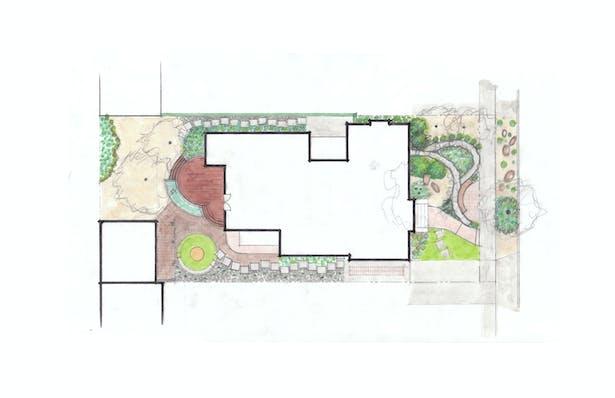 Landscape Plan Option C