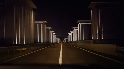 'Gates Of Light' by Daan Roosegaarde