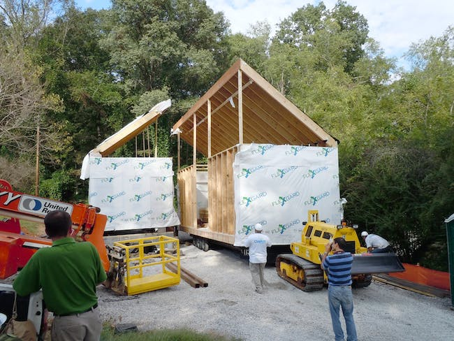 Installation of Clayton Homes modules