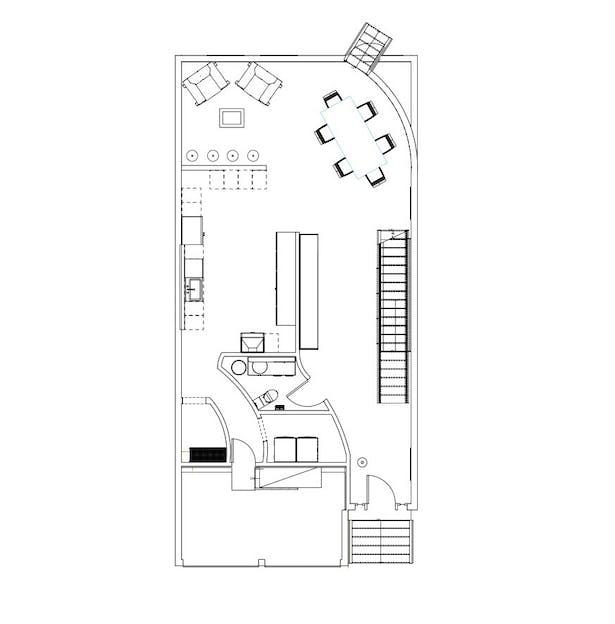 FIRST FLOOR PLAN / MIDRIP LEVEL