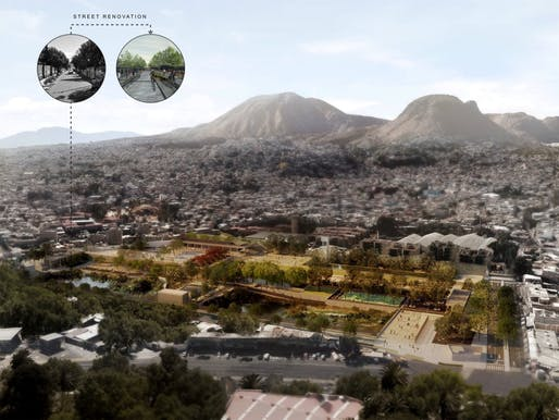 GOLD: Hydropuncture – Publicly accessible water retention and treatment complex in Mexico City, Mexico​ by Loreta Castro Reguera, Taller Capital; and Manuel Perló Cohen, Universidad Nacional Autónoma de México | Mexico City, Mexico​