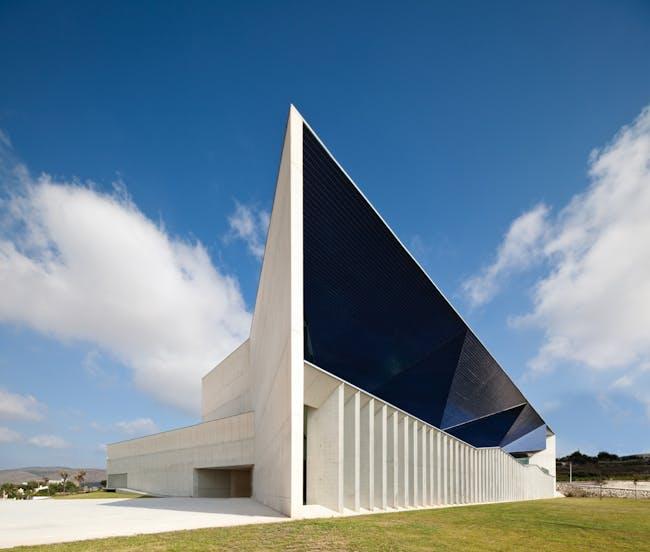 European Union: Municipal Auditorium of Teulada, Alicante, Spain by Francisco Mangado y Asociados (Photo: Juan Rodriguez)