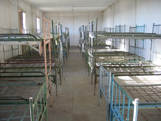 Room used as a medical facility