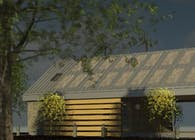 Speculative Project - Modern Agrarian Dogtrot House