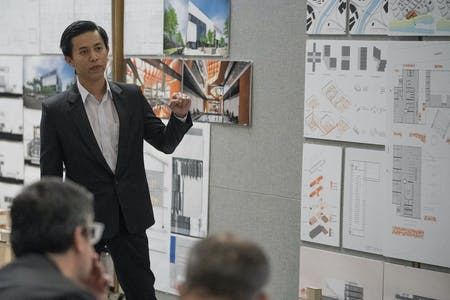 M.Arch Grad Vuong 'Victor' Chu. Image courtesy of CPPARC