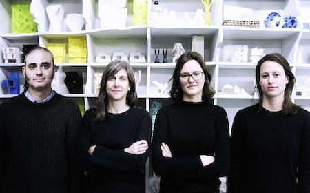 L-R: Tom Balaban, Jennifer Thorogood, Mikaèle Fol, Julia Manaças