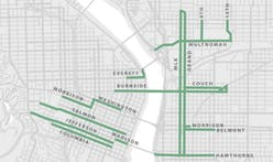 Red bus-only lanes are coming to Portland soon