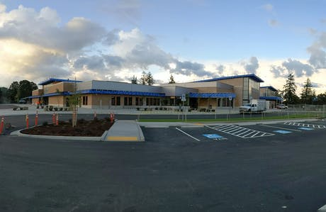 Saint Helens Middle School - nearing completion, Soderstrom Architects, 2019
