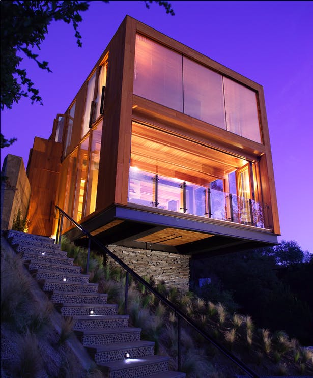 Hollywood HIlls Box House