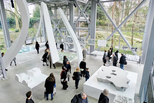 Freeing Architecture, Junya Ishigami exhibition. © Jean-Baptiste Le Mercier