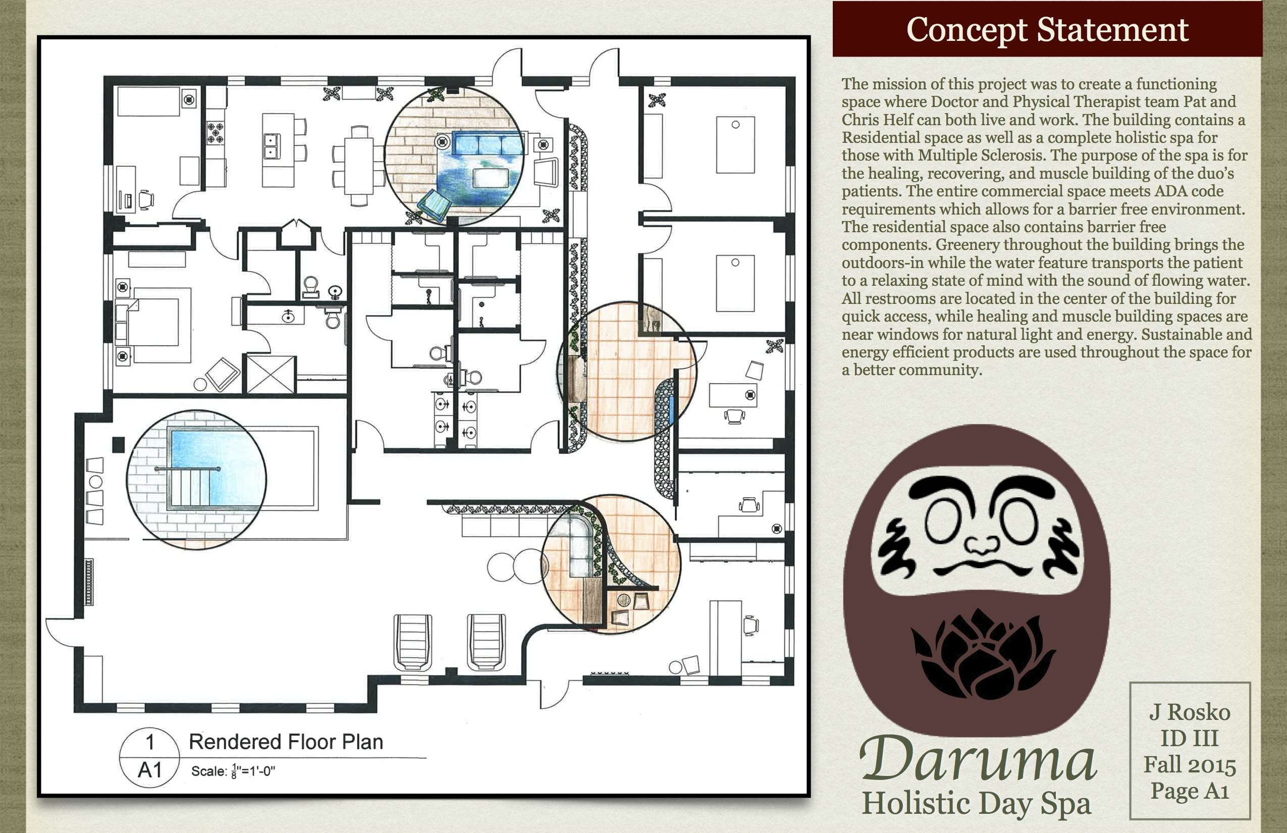 Daruma Holistic Day Spa- Commercial/Residential | Jessica