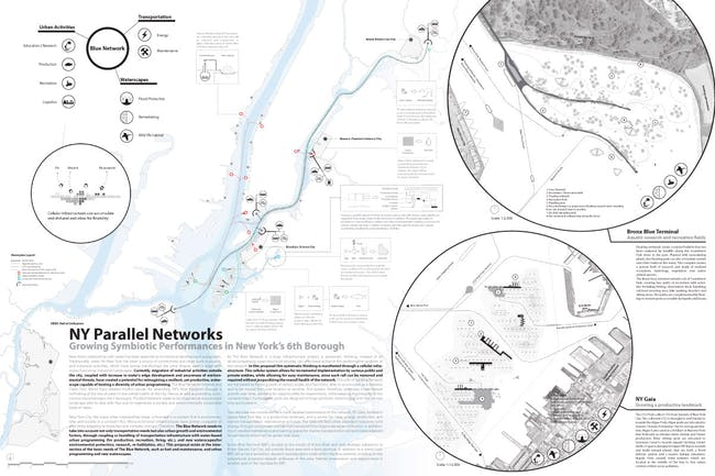 WINNER: NY PARALLEL NETWORKS by Ali Fard and Ghazal Jafari, Canada