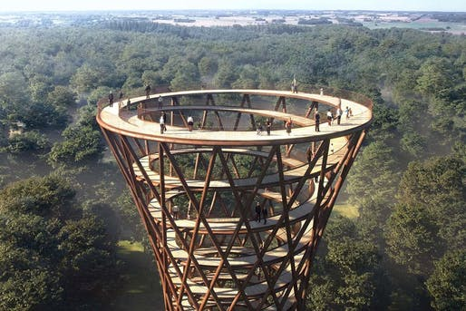 Camp Adventure Observation Tower, by Effekt