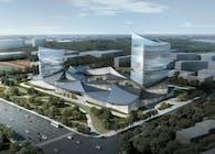 Rolling Hillscape_Quzhou Smart Town complex design
