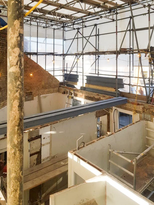 Photograph by Hawksmoor Construction