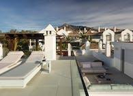Terrace in Puente Romano, Marbella