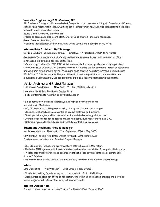 Patrick Lallemand: Resume(jpg) | Patrick Lallemand | Archinect