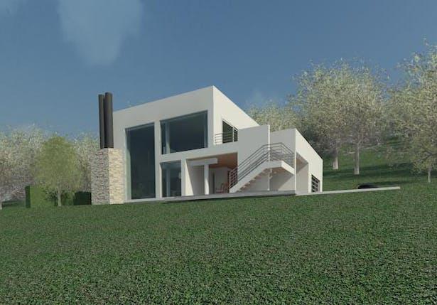 Residence for Greenwich New York, Clifford O. Reid Architect