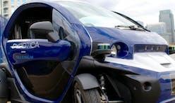 Driverless cars hit the streets of Milton Keynes