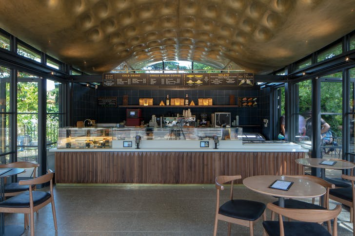 The Serpentine Coffee House photo by Luke Hayes.