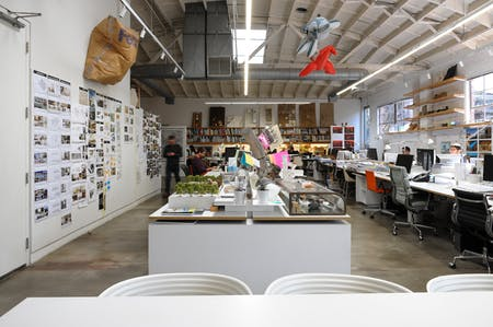 wHY's Culver City office, photo by Amanda Ortland © Archinect