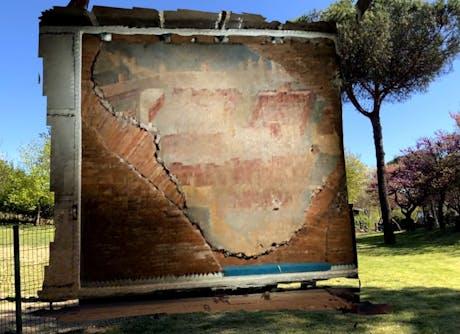 Augmented reality test 'Affresco della citta' Dipinta'