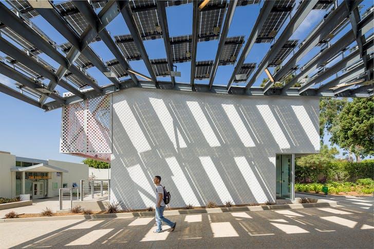 KEA's Pico Branch library in Santa Monica, California. Image courtesy of Eric Staudenmaier