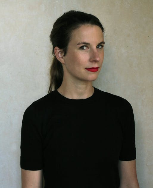 Aude-Line Dulière. Photo courtesy Harvard GSD Wheelwright Prize.