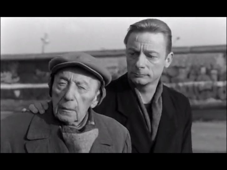 Screenshot from 'Wings of Desire', credit Julia Ingalls.