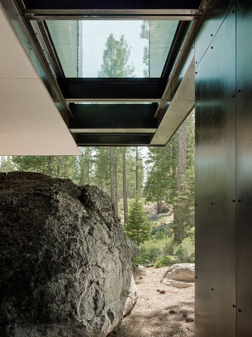 "<a href=""https://archinect.com/faulknerarchitects/project/creek-house"">Creek House</a> in Truckee, CA by <a href=""https://archinect.com/faulknerarchitects"">Faulkner Architects</a>; Photo: Joe Fletcher Photography ​"