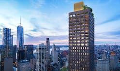 David Adjaye's 800-foot, hand-cast concrete condo tower in NY's Financial District revealed