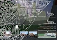 Parish center and urban solution
