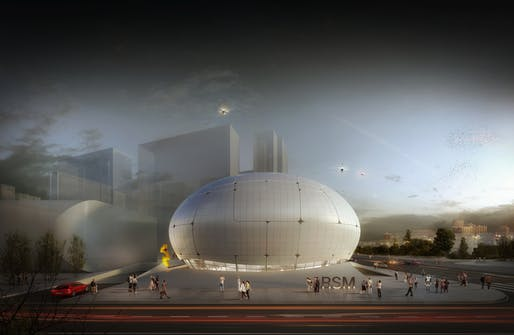 Robot Science Museum in Seoul, Korea. Design by MAA MELIKE ALTINISIK ARCHITECTS Visualization by Ediz Akyalçın