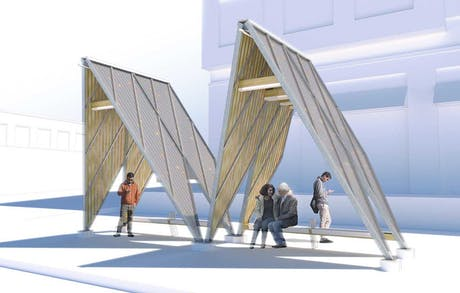 We were finalists for a bus shelter RFP in Hyattsville, Maryland