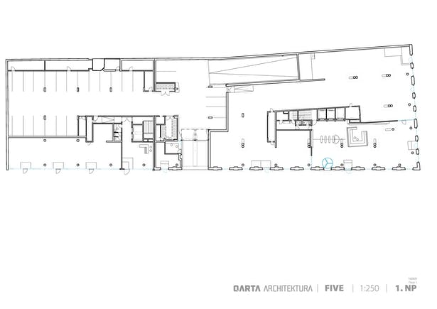Ground Floor Plan QARTA ARCHITEKTURA