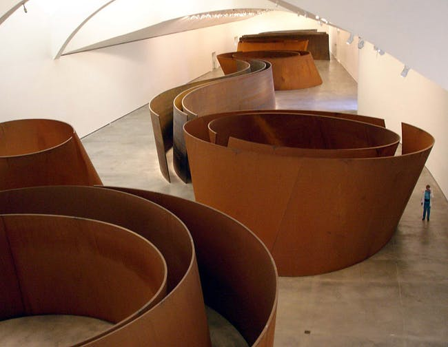 Richard Serra is the first artist to receive the President's Medal from the Architectural League NY
