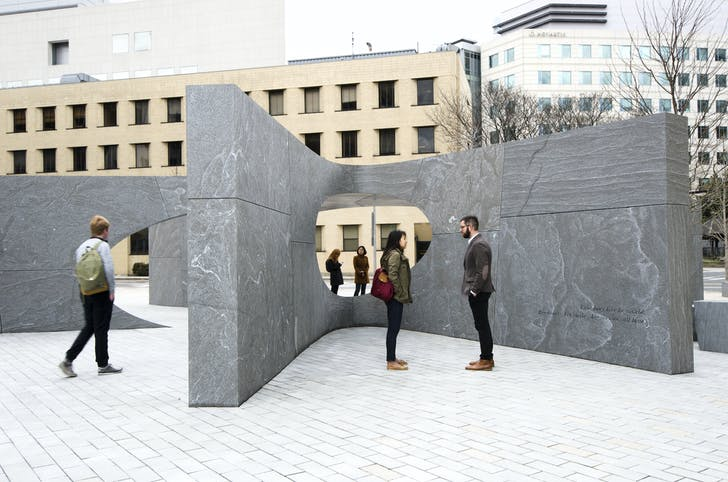 MIT's Collier Memorial. Courtesy of Höweler + Yoon Architecture.