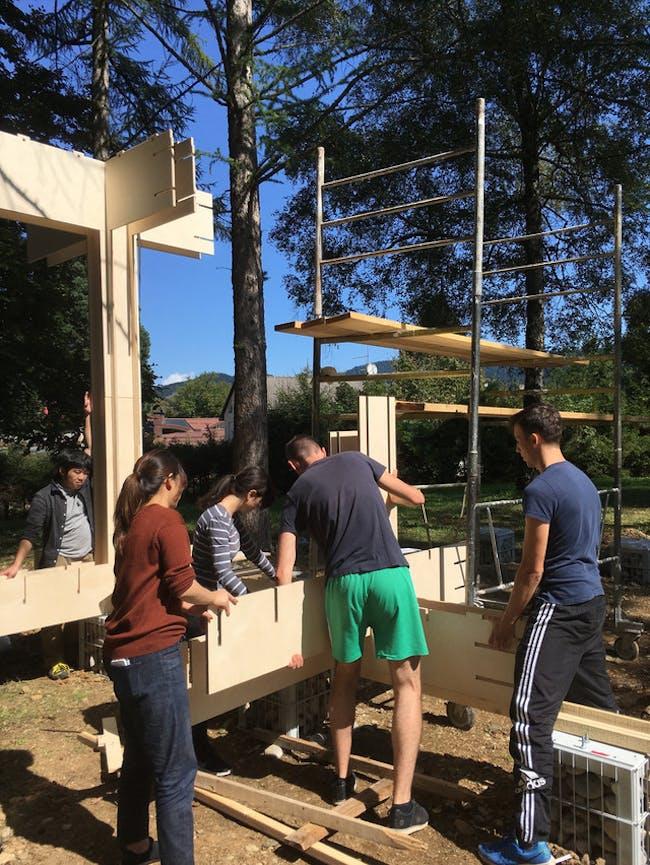 Slovenia Community Pavilion - under construction