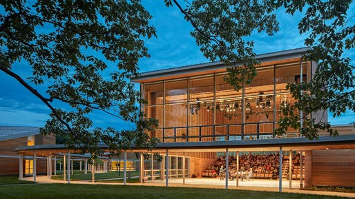 Tanglewood Linde Center for Music and Learning by William Rawn Associates, Architects, Inc. © Robert Benson Photography