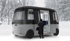 Muji designs autonomous shuttle bus uniquely fit for all weather conditions