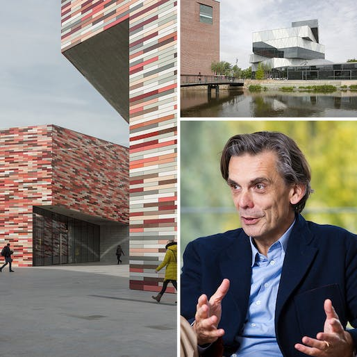 IMAGES, clockwise from left: * M9 Museum District, Venice Mestre, architecture by Sauerbruch Hutton, photographed by Jan Bitter * Experimenta, Heilbronn, architecture by Sauerbruch Hutton, photographed by Jan Bitter * Matthias Sauerbruch, photographed by Kalle Koponen