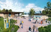 GWWO Architects shares project visualizations of new design for Niagara Falls Visitor Center